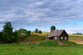 Rural Landscape, Countryside, Rural Home Agriculture Meadow poster