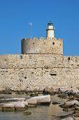 Rhodes Landmark Mandraki Port