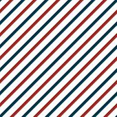 Vector Seamless Pattern With Blue And Red Lines. Retro Texture. Can Be Used For 4th Of July Or Nauti poster