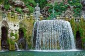 Tivoli, Fountain In The Garden Of The Villa D'este