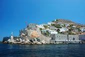 Hydra Island - One Of The Saronic Islands Of Greece