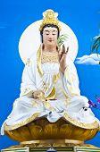 Quan Yin statue.