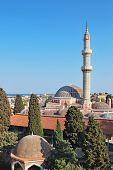 Rhodes Landmark Suleiman Mosque poster