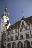 The Town Hall With Astronomical Clock In Olomouc