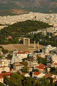 pic of olympian  - Temple of Olympian Zeus Athens Greece  - JPG