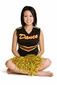 Pretty Asian Cheerleader