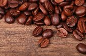Texture of coffee background