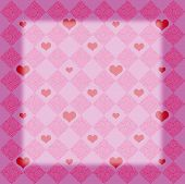 Checkers  Hearts Pink1