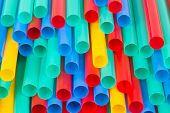 Different Colors Of Straws