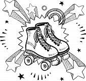 Roller skate sketch