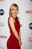 LOS ANGELES - FEB 26:  Radha Mitchell arrives at the ABC's Red Widow event at the Romanov Restaurant Lounge on February 26, 2013 in Studio City, CA