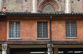 Loggia of the Merchants. Ferrara. Emilia Romagna. Italy.