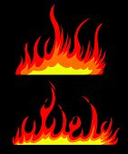 Burning fires
