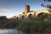 Bridge Of Frias, Burgos, Castilla Y Leon, Spain poster