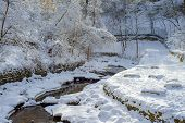 Winding Minnehaha Creek, Winter