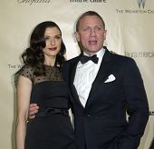 BEVERLY HILLS, CA - JAN. 13: Rachel Weisz & Daniel Craig arrive at the Weinstein Company's 2013 Gold