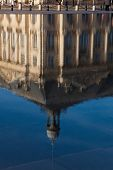 Reflect In The Square Of The Bourse, Bordeaux, Gironde, Aquitaine, France