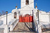 pic of perm  - temple Saint troitsk friary - JPG