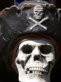 Priate skull