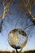 Flushing Meadows Park in New York Unisphere