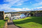 Panorama Of St Andrews, Fife, Scotland