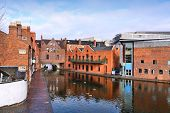 image of west midlands  - Birmingham water canal network  - JPG