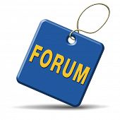 forum internet website www logon login discussion