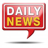 daily news hot from press breaking latest article icon label sign or sticker