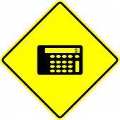 calculator sign