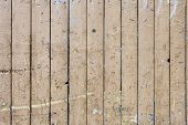 Yellow Wooden Plank