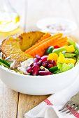 Healthy Colourful Salad