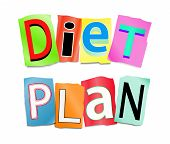 Diet Plan Concept.