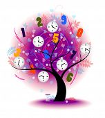picture of time machine  - Tree of time - JPG
