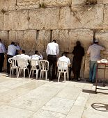 picture of tora  - Western wall Jerusalem - JPG