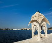 Lake Pichola. Udaipur, Rajasthan, India