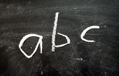 Blackboard - ABC
