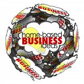 Home Based Business Ideas Thought Clouds Opportunities