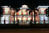 Government Office In Macao At Night