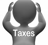 Taxes Character Means Paying Income  Business Or Property Tax