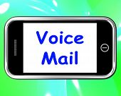 Voice Mail On Phone Shows Talk To Leave Message