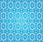 Blue Ottoman Decorative Background