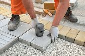 Construction Site, Brick Paver