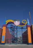 Entrance at Coney Island Luna Park in Brooklyn