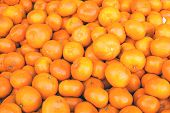 Pile of clementines