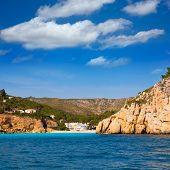 Javea Cala Granadella beach Xabia in Alicante Mediterranean spain