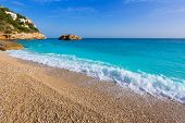 Javea Playa Ambolo beach Xabia in Mediterranean Alicante Spain