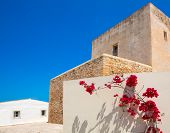 Formentera Sant Francesc San Francisco Javier church in Balearic Islands