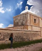 foto of pima  - An Old Mission Tumacacori National Historical Park Arizona