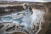 picture of arctic landscape  - Iceland is located at the juncture of the North Atlantic and Arctic oceans - JPG