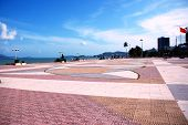Main square on the beach in Nha Trang